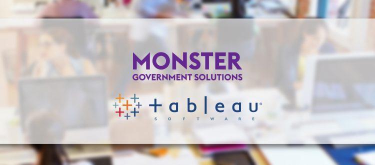 Monster Logo and Tableau Logo Press Release Image