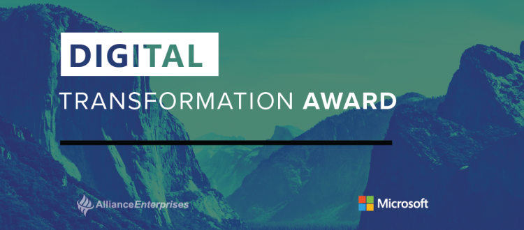 Digital Transformation Award Blog Image