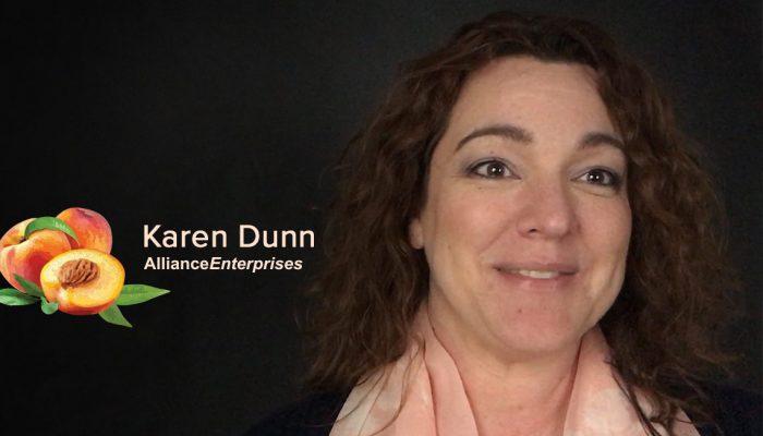 Training Manager Karen Dunn, Alliance Enterprises