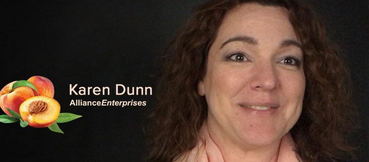 Training Manager Karen Dunn, Alliance Enterprises