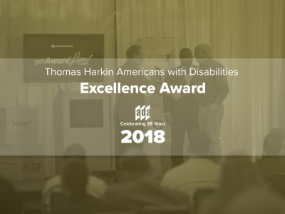 Thomas Harkin Americans with Disabilities Excellence Award 2018